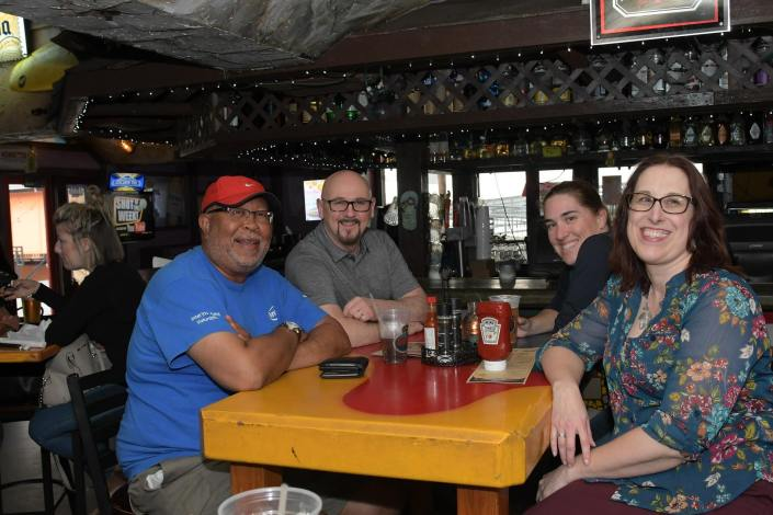 Kelly and Chuck at STC Pub Crawl