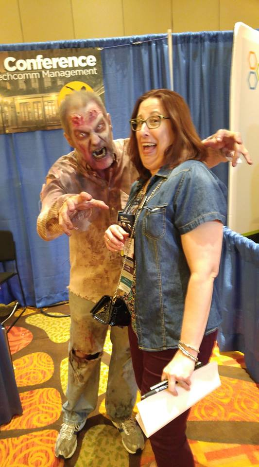 Kelly with Zombie